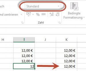 Excel formatiert automatisch - manchmal