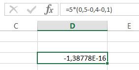 Excel rechnet ungenau
