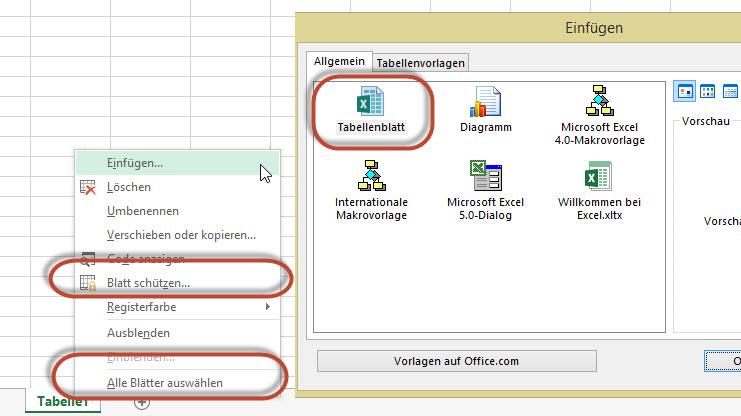 Blatt, Tabellenblatt oder Arbeitsblatt?   Excel nervt ...