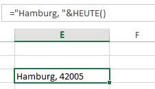 Datum verketten - funktioniert nicht