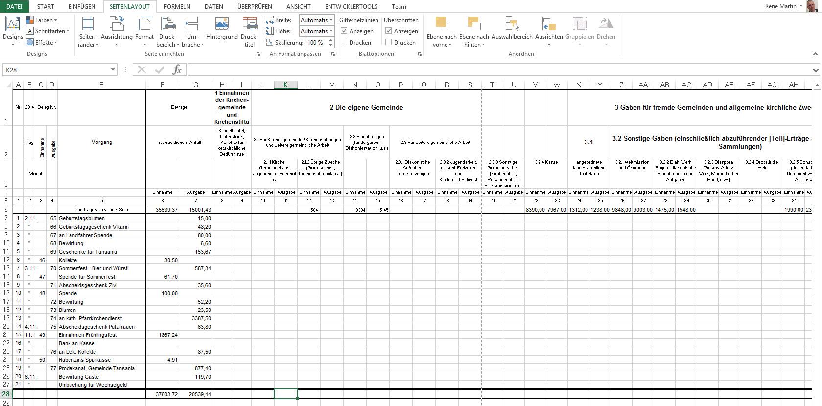 drucken   Excel nervt ...
