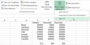 Die Lösung: Berechnungsoptionen