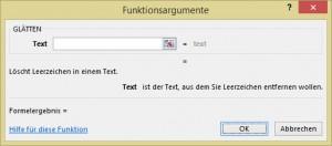 Glätten auf Deutsch.