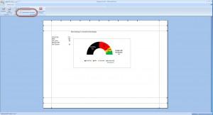 Seitenränder in der Seitenansicht in Excel 2007