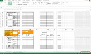 Excel kann auch mehrere - aber nicht über die Seitenansicht.