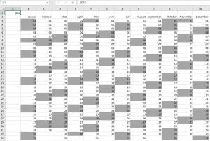 Der Kalender