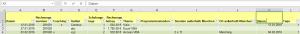 Ich tippe - Excel ändert!