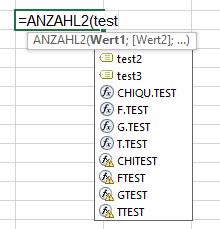 Wo sind test2 und test3?