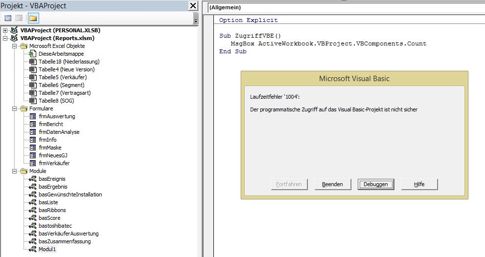 Excel Vba Tabellenblatt Aktivieren : Vba bei fehler fortsetzen nächste nicht funktioniert arbeit
