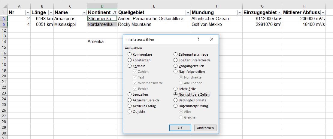 kopieren   Excel nervt ...