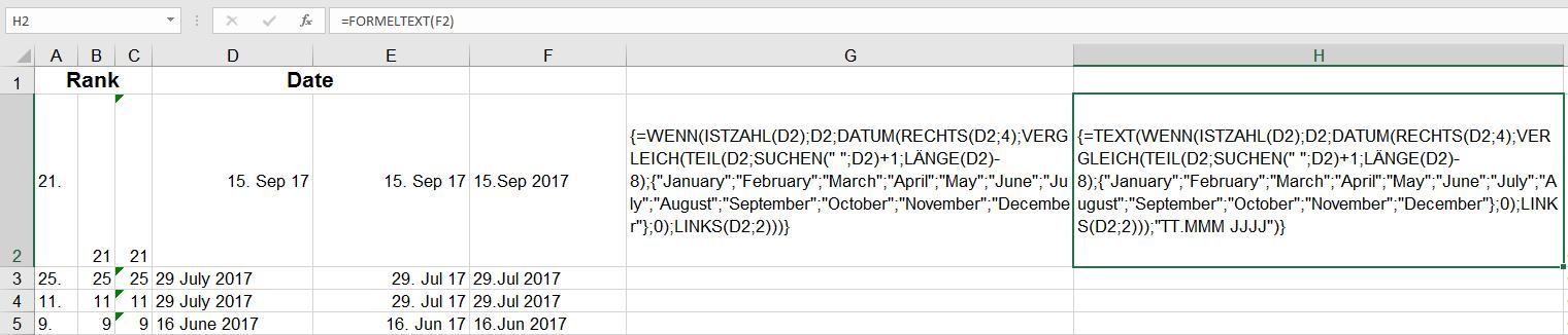 daten nach datum suchen