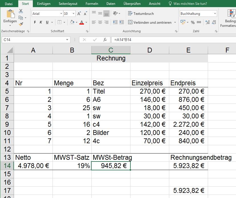Seitenansicht Excel Nervt