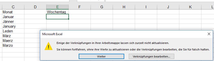 Datenüberprüfung | Excel nervt ...