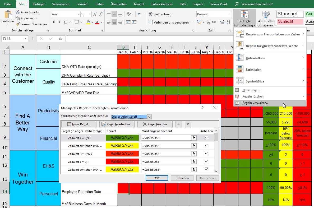 Excel Zufallsgenerator