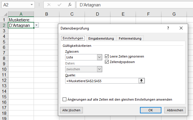 Excel Verknüpfungen Suchen